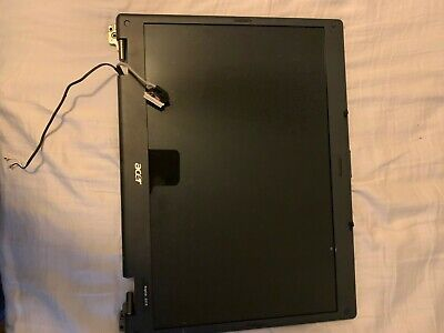 USED: Acer aspire 5515 screen-replacement w/ cover (black)