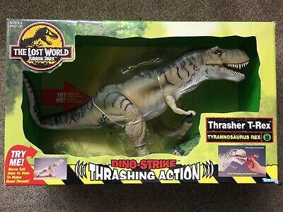 Jurassic Park The Lost World Thrasher T-Rex Tyrannosaurus Rex 1997 Kenner MISB