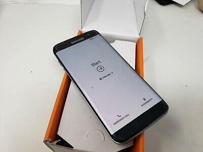 Samsung Galaxy S7 edge G935A 32GB ATT GSM Unlocked Black Has LCD SPOT. Preowned
