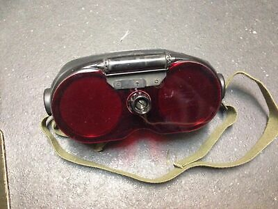 Night Vision Goggles - Vintage WWII Variable Density Goggles w/ Accessories