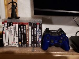 PlayStation 3 games, controllers, Bluetooth headset