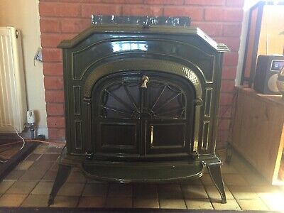 American - Cast Iron Multi Fuel / Wood Burning Stove