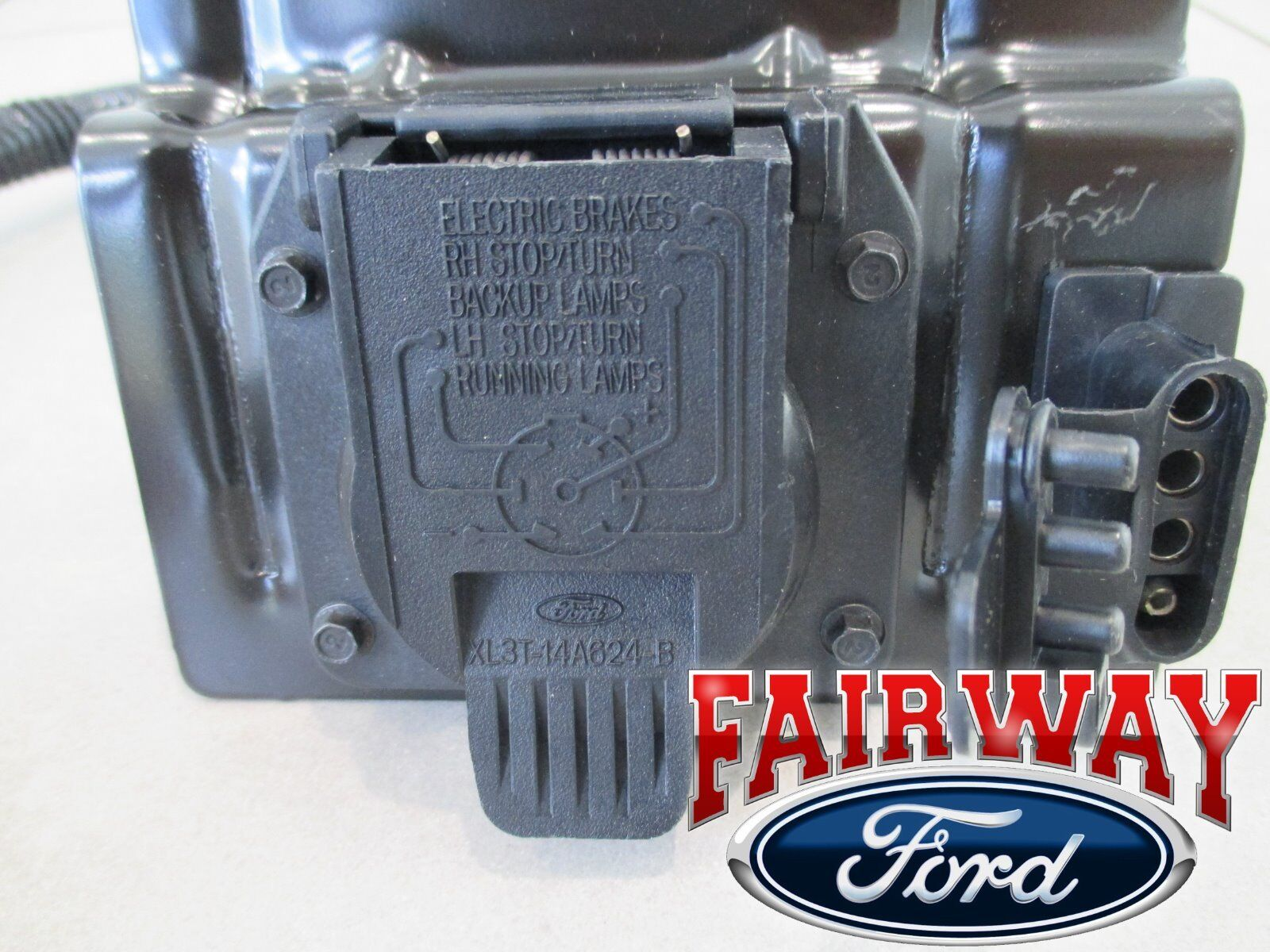 99 thru 01 f250 f350 super duty ford 4 7 pin trailer tow wiring 99 thru 01 f250 f350 super duty ford 4 7 pin trailer tow wiring harness plug 2 2 of 6