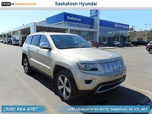 2014 Jeep Grand Cherokee Limited PST Paid - Sunroof - Back Up...