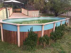 Above ground pool 12m x4mx1.2m Williamstown Barossa Area Preview