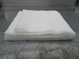 10mtr Meters Roll Fake Snow Christmas Santa Grotto nativity soft white blanket