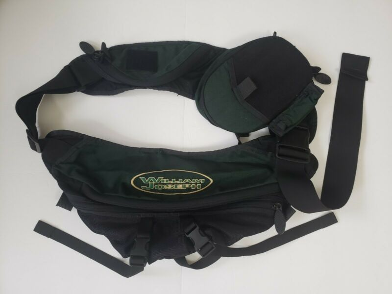 William Joseph Chest Pack Multiple Compartments Adjustable Strap *With Defects*