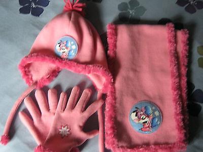 Ensemble dildlina: bonnet + echarpe + gants (m)