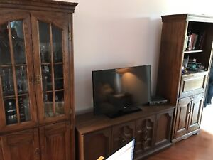 Armoire and tv stand, beautiful pieces, need gone ASAP!!
