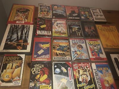 Commodore 64 Games Job lot 22 Cassettes Mystery Nile The Oracles Cave Mixed #5