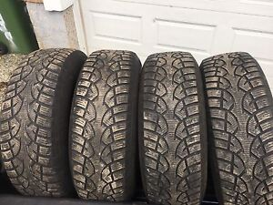 CONTINENTAL 4x4 ICE CONTACT TIRES 245/70/17