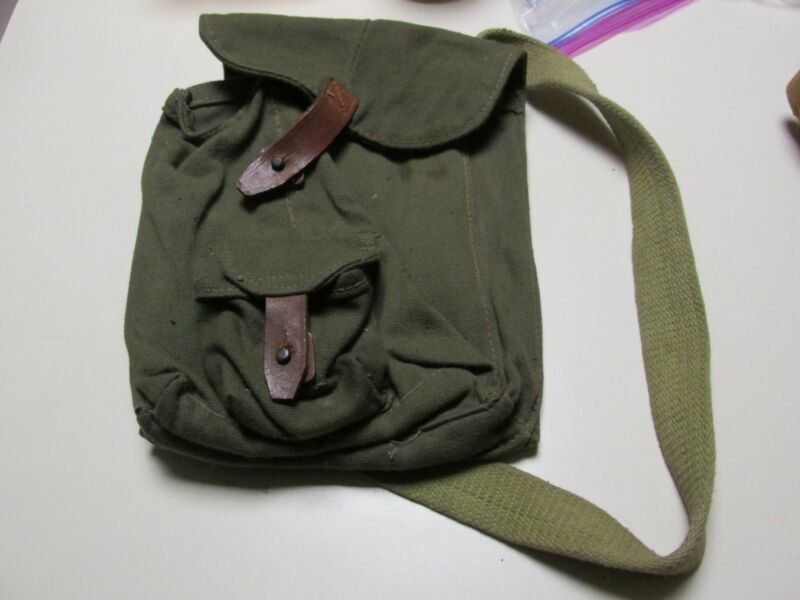SOVIET MILITARY  4-CELL AMMUNITION BAG / RUSSIAN MAGAZINE POUCH! COOL & SEXY