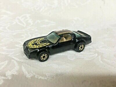 Hot Wheels 1977 Pontiac Firebird #37 Hot Bird Black Hot Ones
