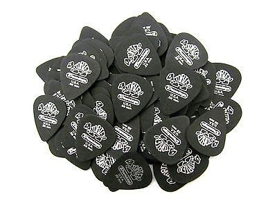 Dunlop Black Standard Picks (Dunlop Guitar Picks  72 Pack  Tortex Pitch Black Standard  .88mm )