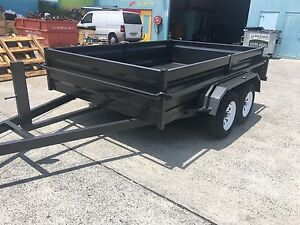 AUSSIE BUILT 10x6 HEAVY DUTY TANDEM TRAILER NEW TYRES & RIMS Warwick Southern Downs Preview