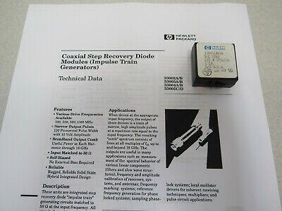 Hp Hewlett Packard 33005c 1 Ghz Spacing Comb Generator