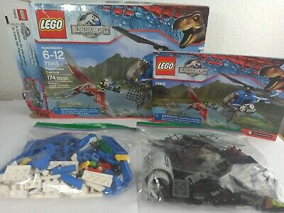 LEGO 75915 - Jurassic World Pteranodon Capture 100% COMPLETE!