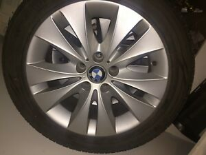 BMW  RIMS AND TIRES IN GREAT CONDITION