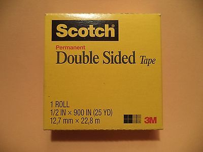 3M Scotch Double-Coated Tape Double-Sided Roll Photo Safe 021200171031 1