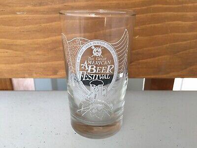 GABF Vintage Great American Beer Festival 1989 Taste Tester Glass Denver, CO (Great American Beer Denver)