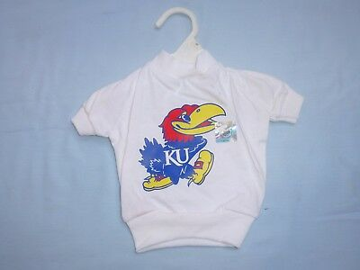 Kansas Jayhawks DOG/Pet  T-SHIRT  size Small  by Smart Dog Products  NWT