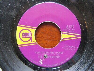 TEMPTATIONS Hum Along And Dance-Ungena Za Ulimwengu US Gordy G7102 1970