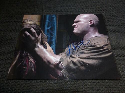 "GLENN ""KANE"" JACOBS signed Autogramm auf 20x25 cm SEE NO EVIL Bild InPerson RAR"
