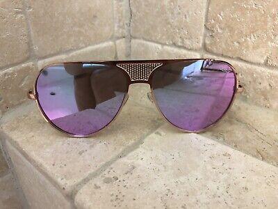 Quay Australia Sunglasses Women's ICONIC Gold/Purple NWT Incl. Soft -