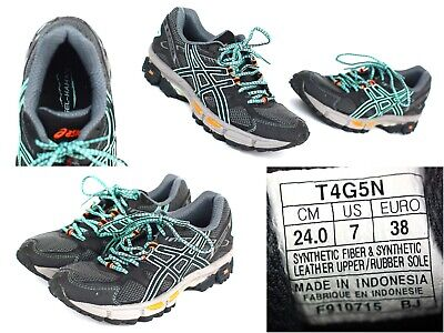 Asics Gel Kahana 7 Women's Sz 7 Trail Athletic Running Shoes - T4G5N -