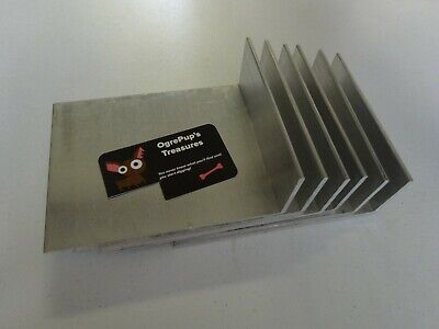 2 X 6 Aluminum Angle 18 Thick 4 58 In Length 6 Pieces