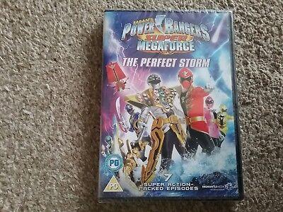 power rangers super megaforce the perfect storm dvd new freepost