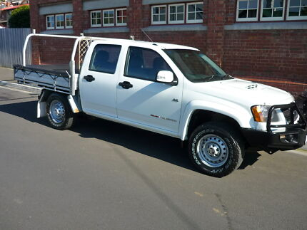 2010 Holden Colorado 4x4 Turbo diesel Dual Cab Flat tray Ute North Hobart Hobart City Preview