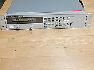 Hewlett Packard HP 6644A DC Power Supply 0-60V / 0-3.5A; siehe Bilder