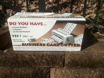 New Hand Crank Manual Business Card Cutter