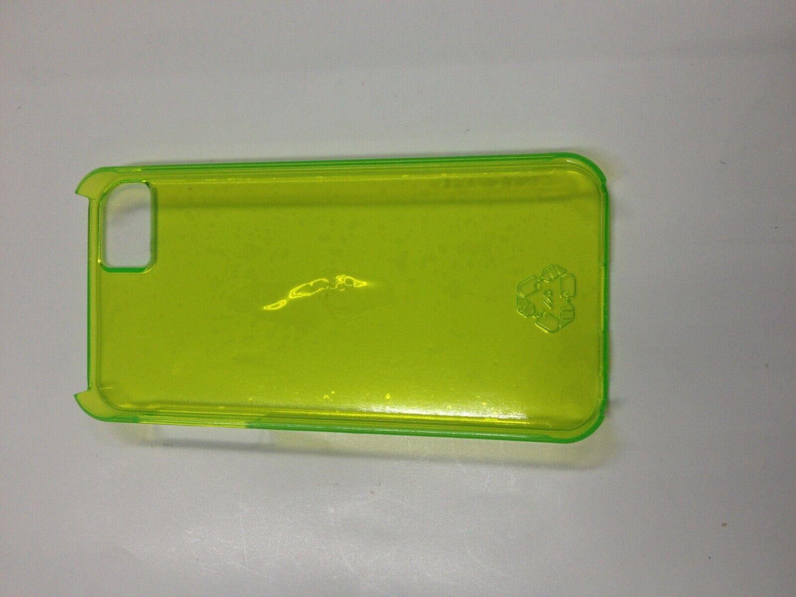 CASE-MATE RPET ULTRA SLIM TRANSPARENT BACK COVER - APPLE iPHONE 5  - GREEN-