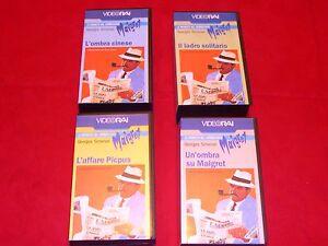VHS-VIDEOCASSETTE-MAIGRET