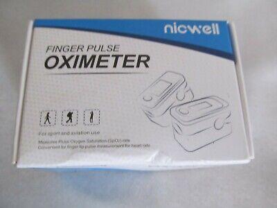 Finger Pulse Oximeter Heart Rate Spo2 Pr Oxygen Saturation Monitor Blood Lanyard