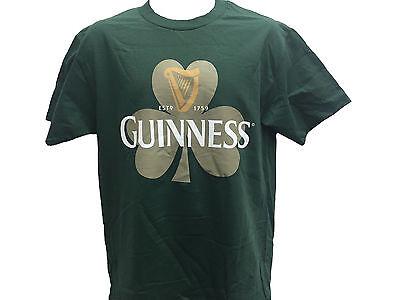 Guinness Beer Ireland Clover Shamrock Classic Retro Vintage Mens T Shirt M 2Xl