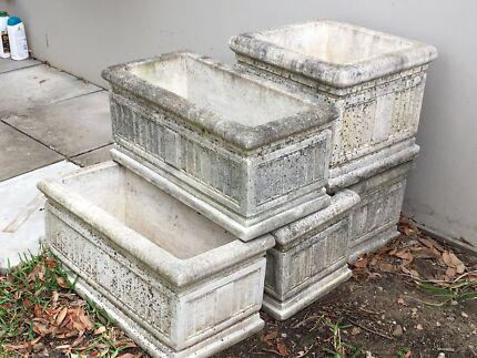Stone Troughs & Pot