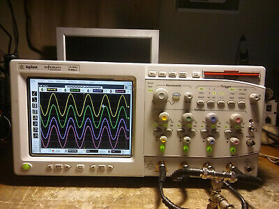 Hp Agilent Keysight 54845a 1.5ghz 8gsas Oscilloscope W Ssd Drive Usb Storage