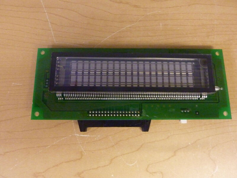 Futaba M202SD08FJ VFD Display Module Board 2 x 20 Char (14591)