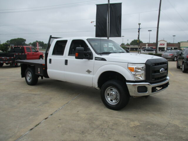 2012 Ford F250 Super Duty Flat Bed 4wd Crew Cab Used