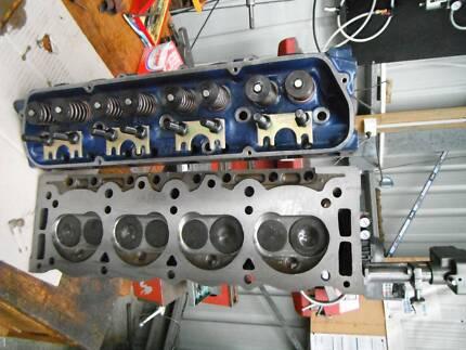 Holden V8 253,308,355 Heads Big Valves Ported Roller rockers Lakes Entrance East Gippsland Preview