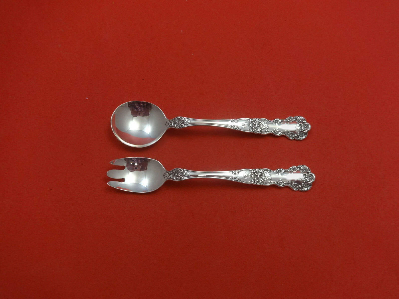 """Buttercup by Gorham Sterling Silver Baby Childs Set 2pc Custom Made 4 3//4/"""""""
