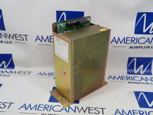SEPRI ALO3 220VAC   24VDC   Electtronica Industriale   USED