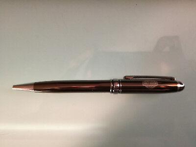 """Harley Davidson Ballpoint Pen, STYLO BILLE, """"RARE"""",  NEW, Grey / Chrome (1)"""