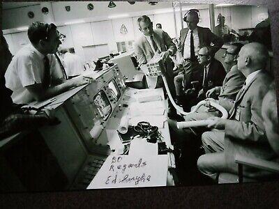 ED SMYLIE Hand Signed Autograph 4X6 Photo - ED SAVED APOLLO 13 ASTRONAUTS  LIVES