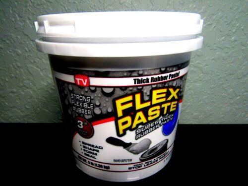 **XLARGE 3 LB. POUND** Flex Seal Paste WHITE Rubber Paste **XLARGE 3 LB POUND**