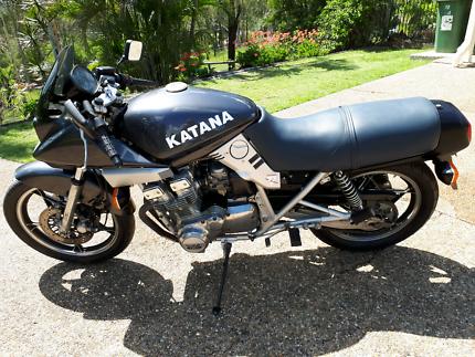 Suzuki Katana 750 collectible