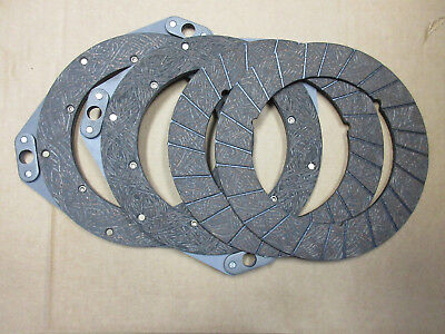 Clutch Discs Set For John Deere 70 720 730 Riveted Disc